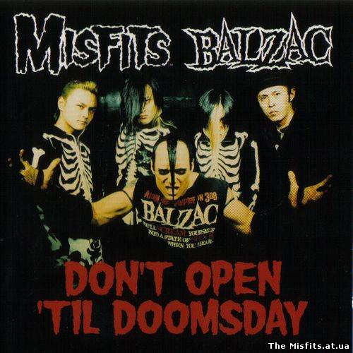 Misfits & Balzac - The Haunting - Dont Open Till Doomsday